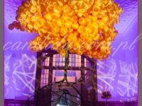#dekoracjeeventowe #floatingtree drzewo z balonów przygotowane jako dekoracja eventowa