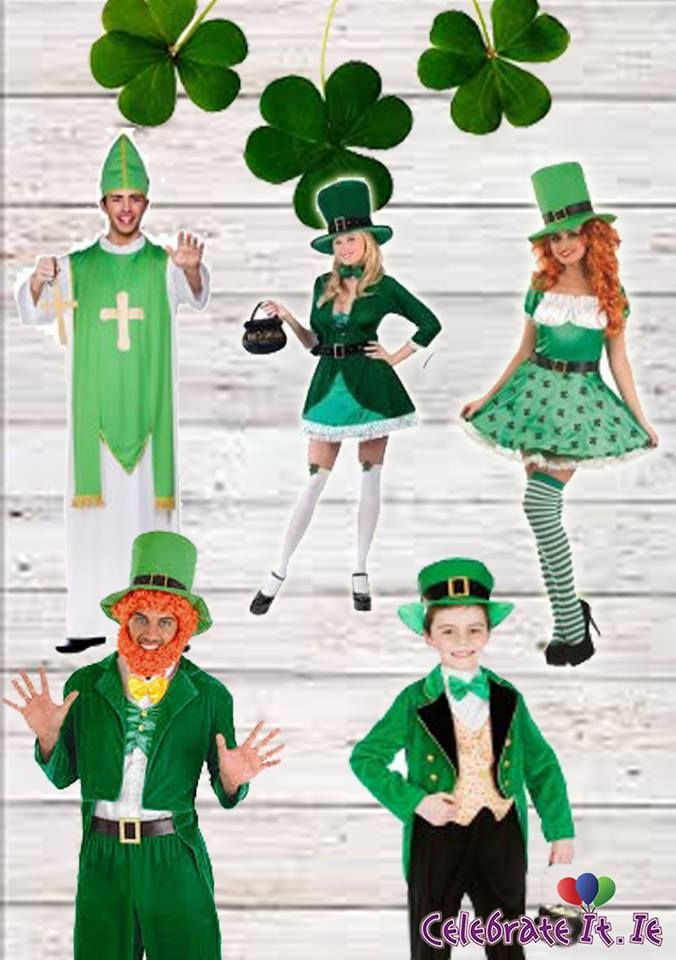 Forget about 50 Shades of Grey.. It's all about 50 Shades of Green! With just one month to St Patrick's Day, its time to start thinking about your costume.