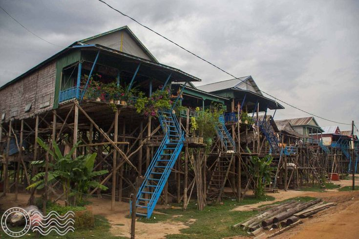One day bike trip from Siem Reap to Kampong Phluk, the floating village.