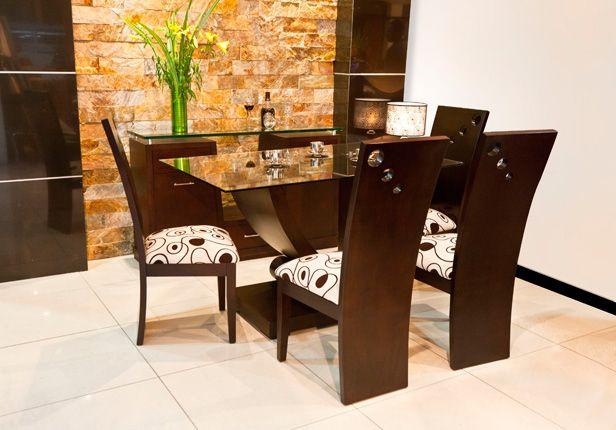 Comedores modernos galeria montecarlo venta de muebles for Comedores modernistas