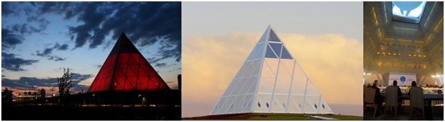 'La Piramide della Pace' ad Astana