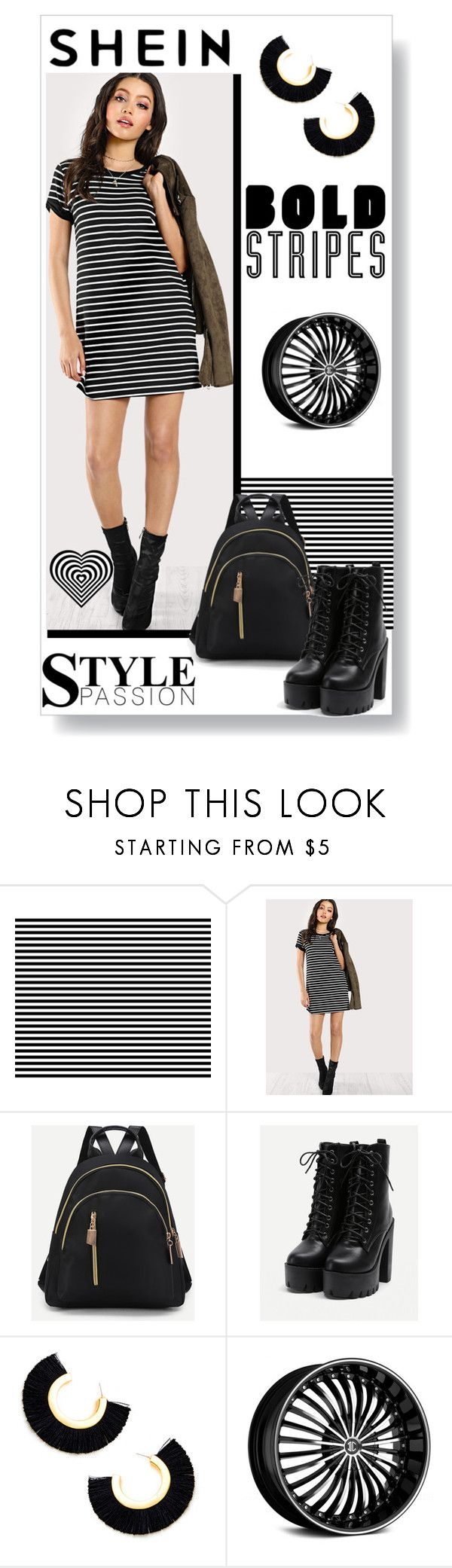 """bold stripes"" by bonnie-wright-1 ❤ liked on Polyvore"