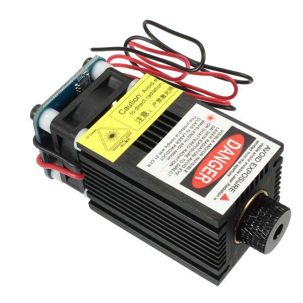 EleksMaker® LA03-2300 445nm 2300mW Blue Laser Module With TTL/PWM For DIY Laser Engraver Machine