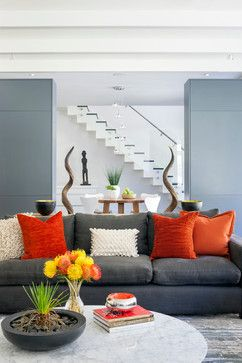 Courtyard Residence Living Room - contemporary - Living Room - Boston - LDa Architecture & Interiors