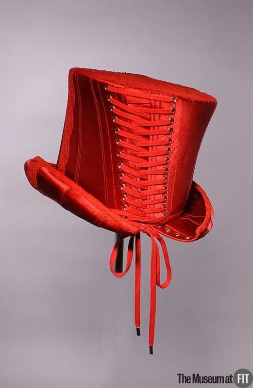 John Galliano Corset Top Hat for Christian Dior