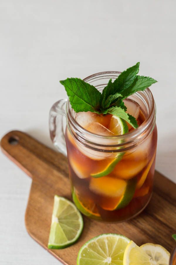Caffeine Free Lemon Iced Tea   This is easy and perfect for a picnic  @recipespantry