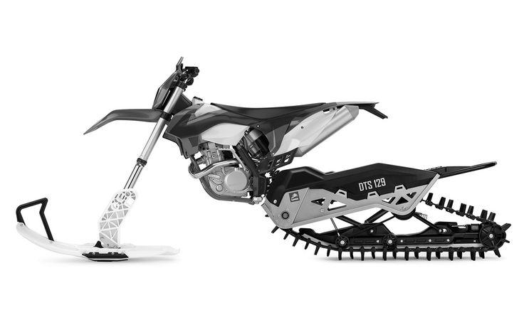 CAMSO+DTS+129+:+Système+de+conversion+à+chenilles+pour+motos+hors+route+-+Nouveaux+produits+-+Moto+Journal