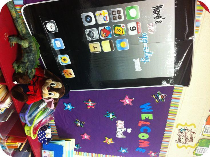 Classroom Ipad Ideas : Best ideas about ipad bulletin board on pinterest