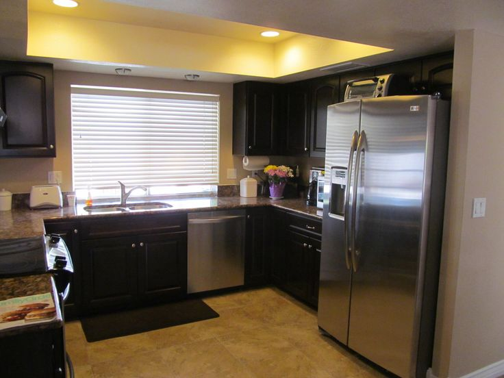 Kitchen Remodel Dark Cabinets 141 best kitchens with black appliances images on pinterest