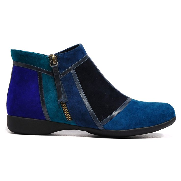 Tibble by Django and Juliette #cinori #django #leather #Boot #booties #winter #style #colour