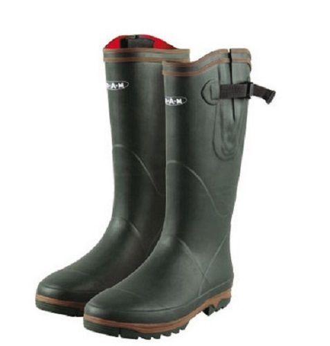 DAM mit Neopren Stiefel Regen Outdoor Gummistiefel Teich Angeln Angler Reiten in Sport, Camping & Outdoor, Schuhe | eBay