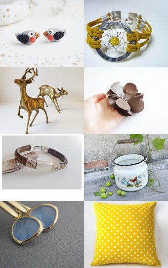 Summer  Time  by Needle And Line on Etsy--Pinned with TreasuryPin.com