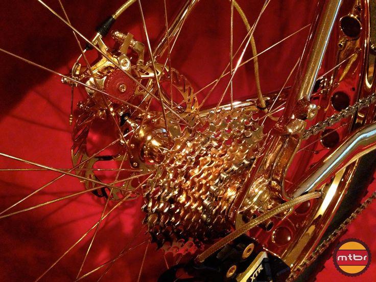 24k Gold Bike Cassette