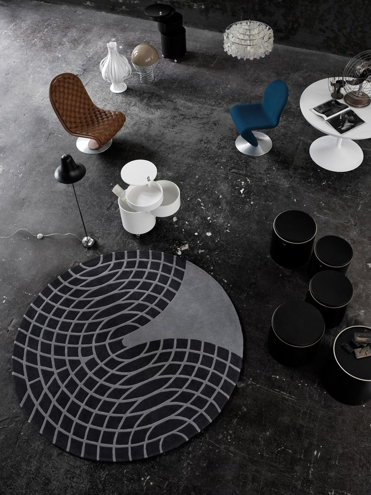 PANTON - Rug by Verpan, design Verner Panton