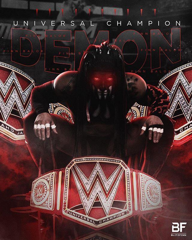 Finn Bàlor | 1st WWE Universal Champion.