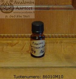 Scent oil: Marinum (sea) by Osmia / tuoksuöljy: Marinum (meri), Osmia