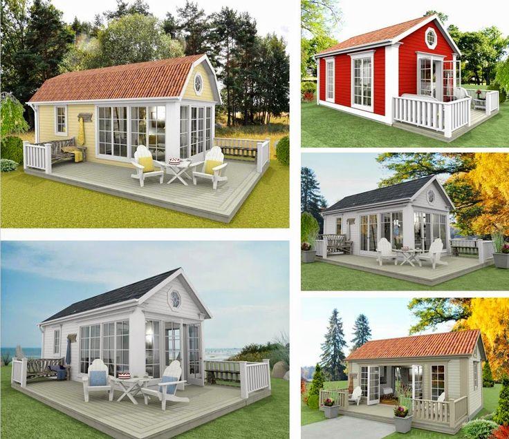 Den Vita Drömgården: Snart kan du köpa ritningarna på mina Attefallshus