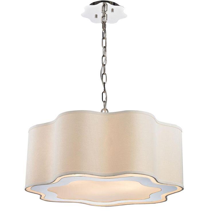 Metal drum pendant lighting : Best images about lighting chandeliers on