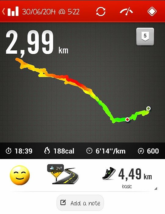 First fastingworkout