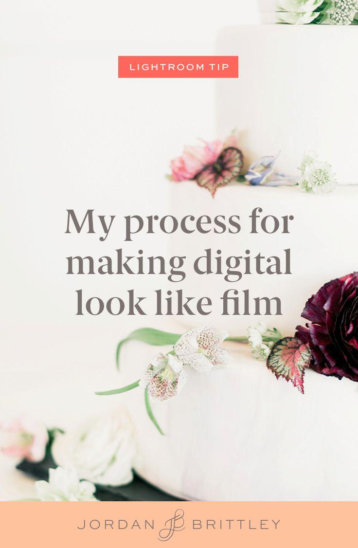 Making digital look like film