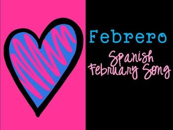 You are receiving the lyrics to an original song in Spanish about the month of February.