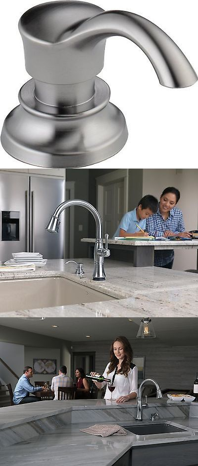 Soap Dishes and Dispensers 25451: Delta Faucet Rp71543ar Cassidy Soap Lotion Dispenser And Bottle Arctic Stainl... -> BUY IT NOW ONLY: $34.98 on eBay!
