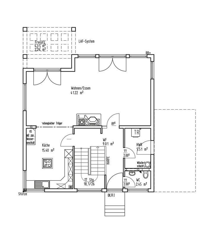 Hauspläne grundrisse  9 best LUXHAUS | Hauspläne und Grundrisse images on Pinterest ...