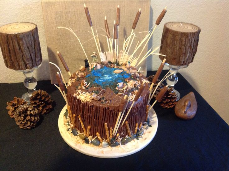 Hunting Birthday Cakes Pinterest