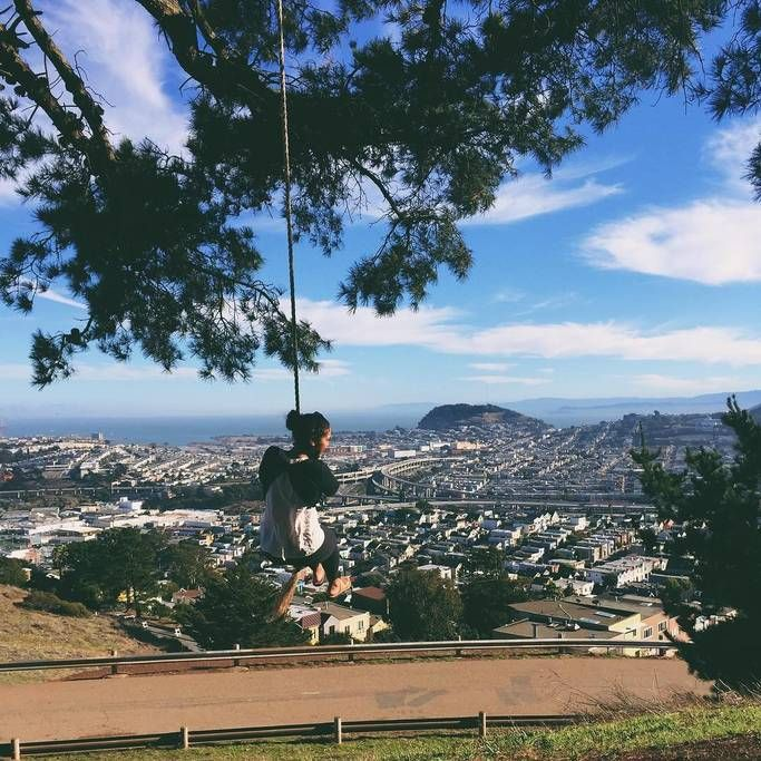 Park in San Francisco loved by locals
