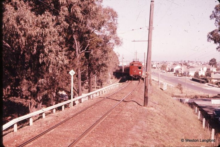 101305: Jordanville Down Tait Suburban. 19 February 1962. Now Mt Waverely Line.