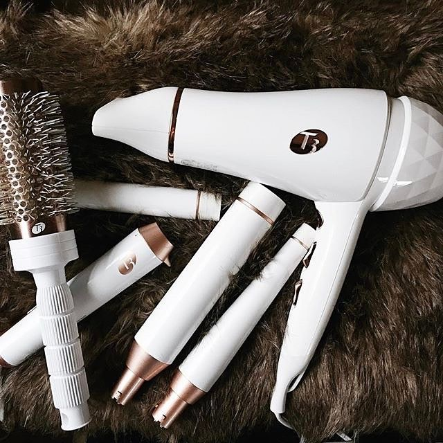 """""""I've never had a curling wand that will hold my smooth curls for days like the #T3Micro Whirl Trio... Less heat on my thick coarse hair & tousled smooth curls for days! Yes please!"""" - @amberulmer."""