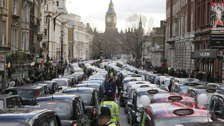 Uber Operations Suspended By London Over Safety Concerns