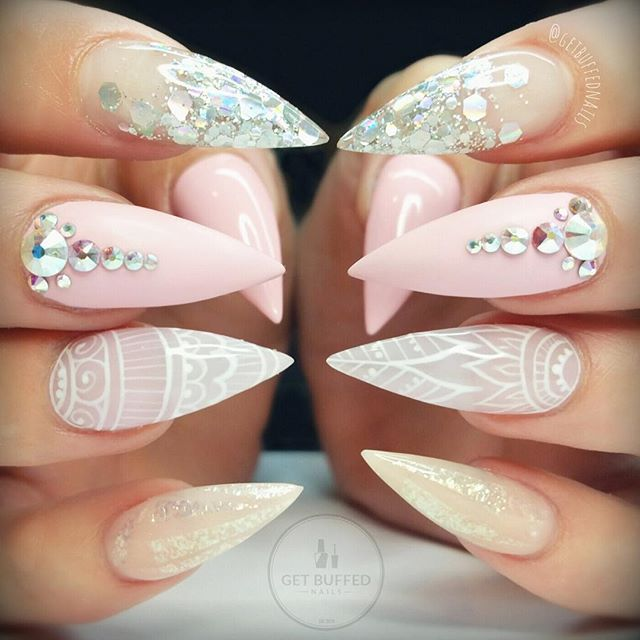 Instagram photo by @getbuffednails via ink361.com