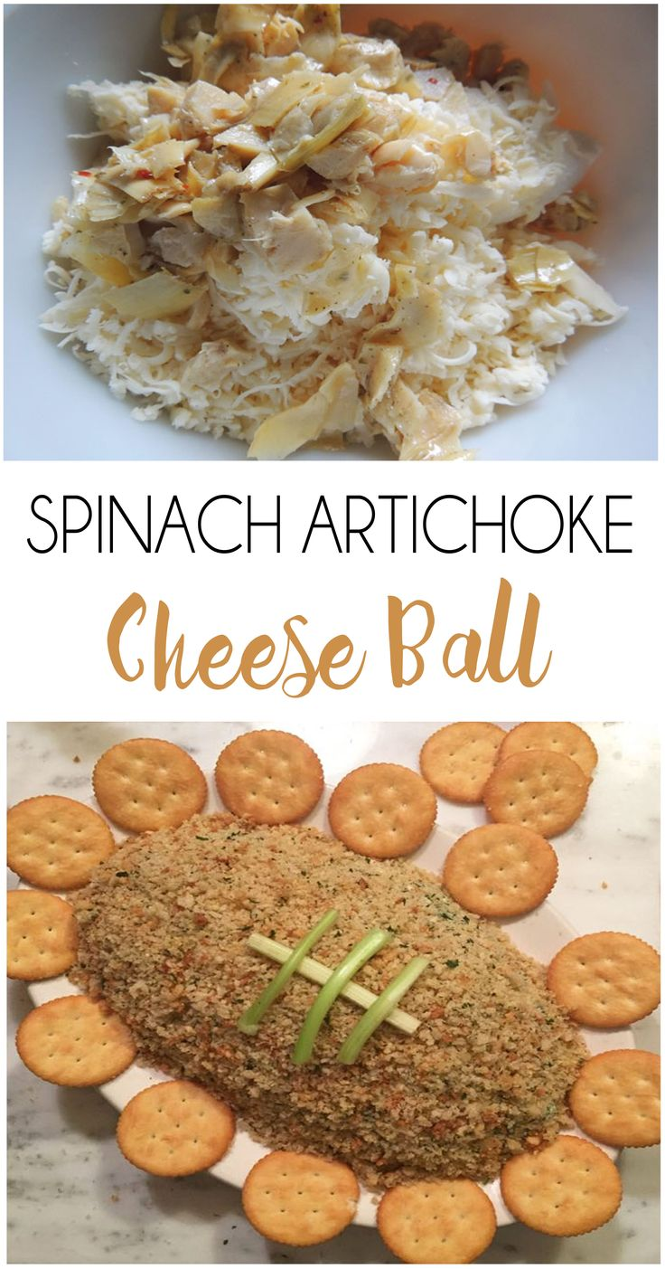 Spinach Artichoke Cheeseball | Mondays, The o'jays and ...