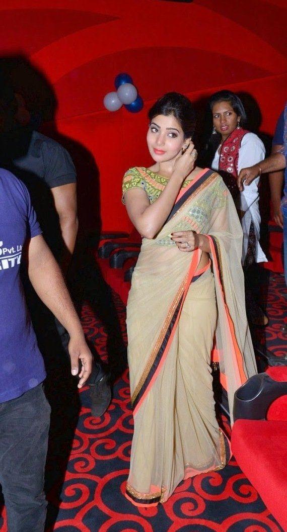 Tamil-Actress-Samantha-Beautiful-in-Saree.jpg (570×1058)