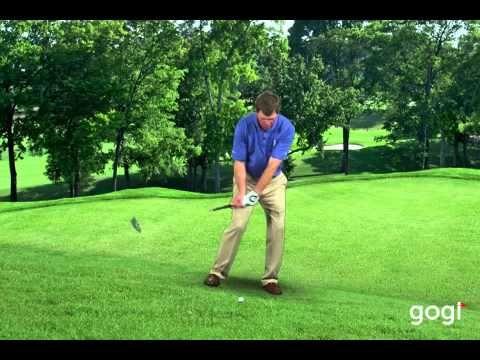 Golf Basics - Downhill Lie: Todd Anderson #golftips