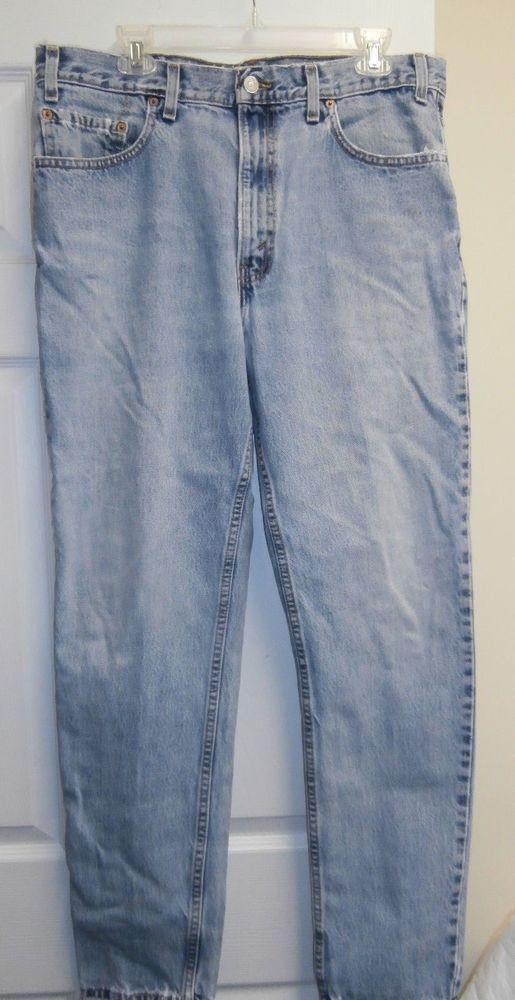 3349283baca Vintage LEVIS 512 Slim Fit Jeans 38