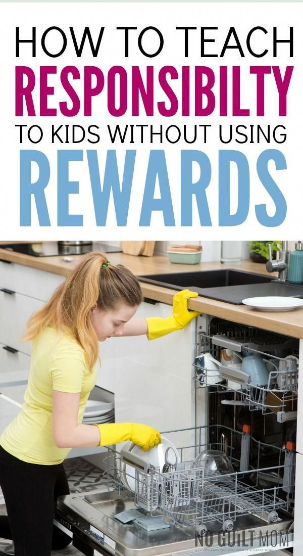 How to teach responsibility to kids without using rewards