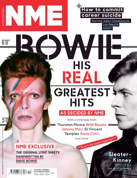 David Bowie, 18 October 2014