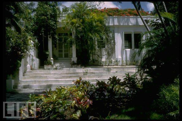 Hemingway's home, Cuba.