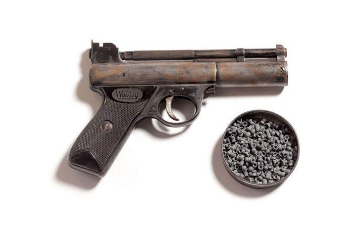 Pellet gun owned by the Krays.
