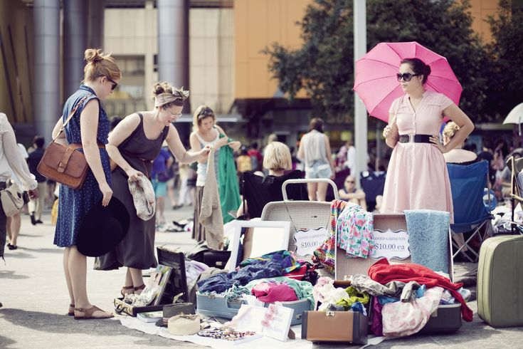 The Brisbane Suitcase Rummagegets more popular every year and has now lowly taken over the country. Stall holders sell from suitcases filled to the brim with pre-loved and vintage goodies. Indulge Magazine spoke to its creators Isabel FitzGerald and Daniele Constance and found out how it all began ...