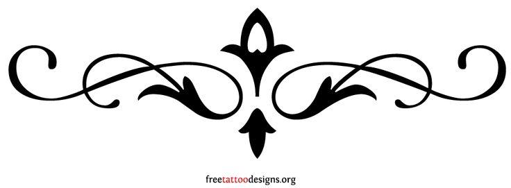95 Lower Back Tattoos   Tramp Stamp Tribal Tattoo Designs