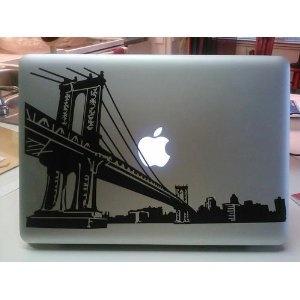 Brooklyn Bridge Skyline Laptop Skin Vinyl Decal Soon To Be Mine - Custom vinyl decals brooklyn