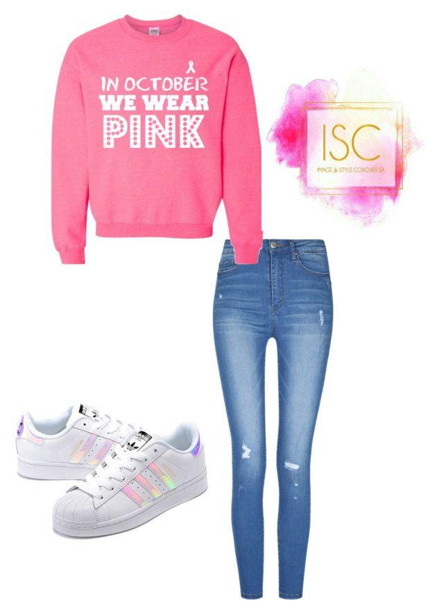 """pink"" by sunet-vermaak on Polyvore featuring adidas Originals"