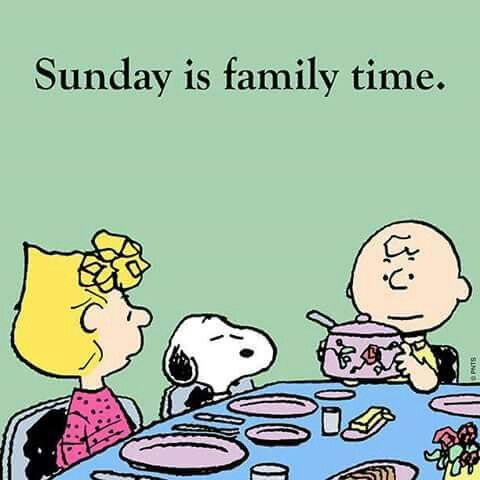 For southern families, your presence is required at Sunday dinner!