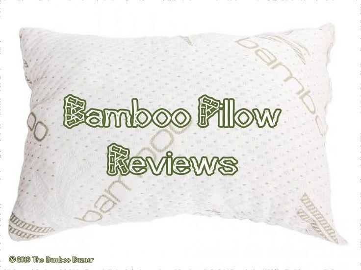 http://thebamboobazaar.com/bamboo-pillow-reviews/ #bamboobedding #bamboopillow