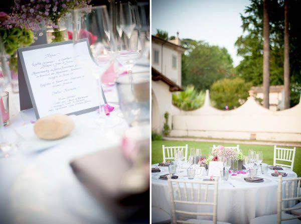 Un matrimonio vintage in villa: Viola e Stefano