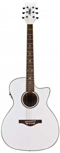SALE !!! Wildwood Artist Acoustic-Electric (Pearl White) -- 50% off this beauty!!!