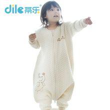 Herfst babyslaapzakjes 100% natuurlijke katoenen baby sleepsiut kid sleep tas lange mouw brief patroon kinderen slaap rompertjes(China (Mainland))